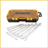 DEWALT Conjunto de chaves de combinação, SAE, 8 peças (DWMT73809)