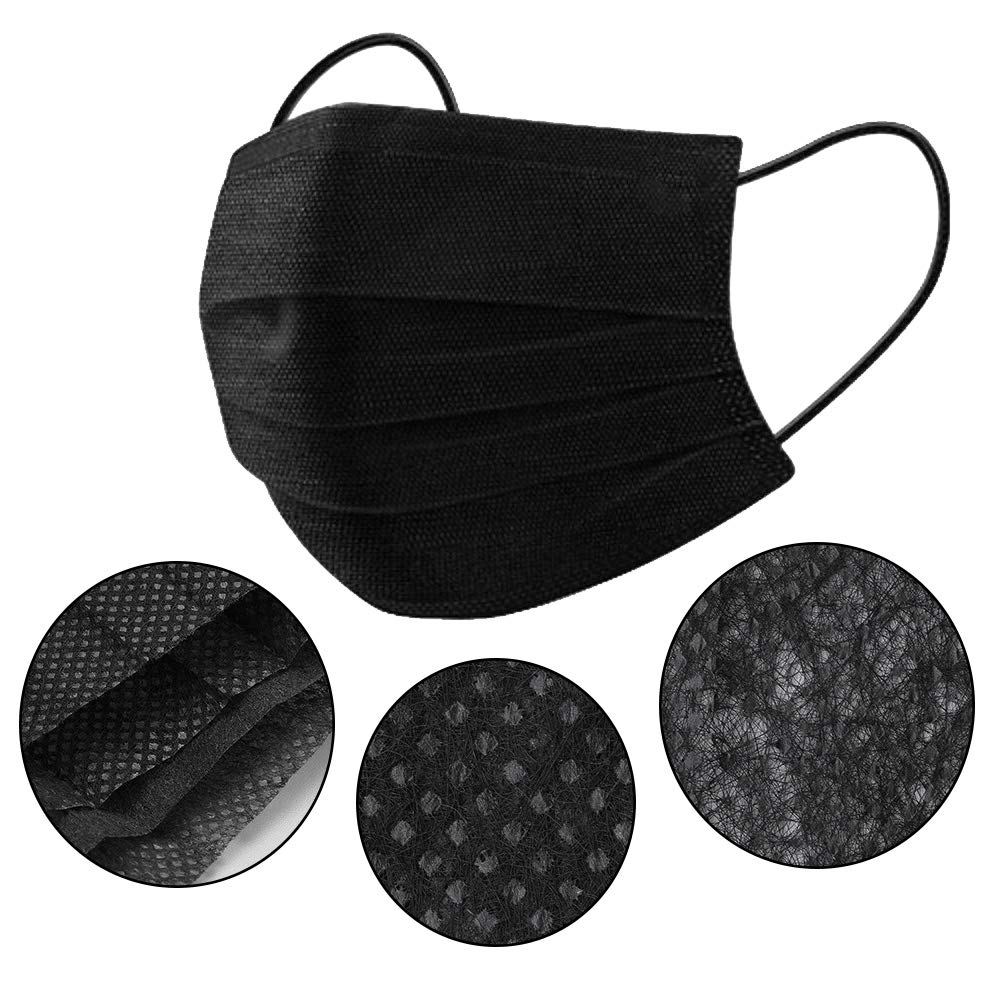 face mask surgical black