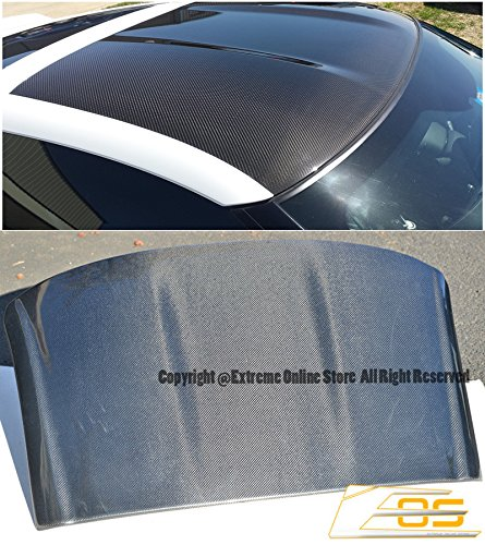 (Extreme Online Store for 2014-Present Chevrolet Corvette C7 2Dr Coupe Targa | EOS Factory Style Top Roof Panel Cover Carbon Fiber Overlay)