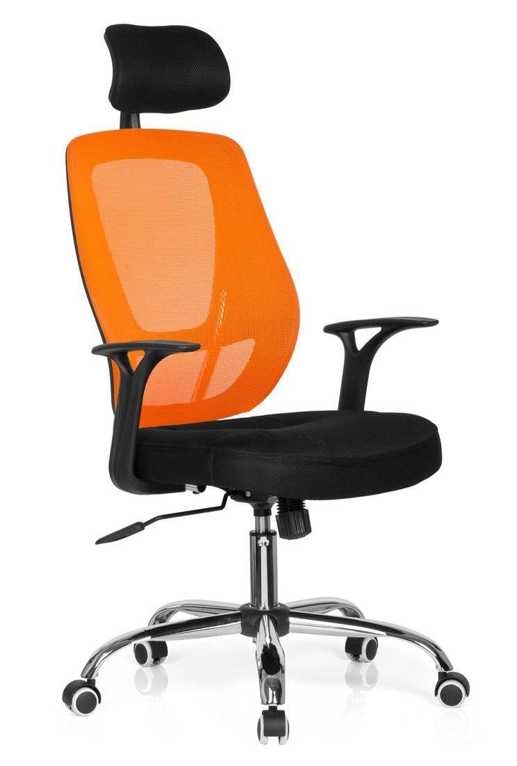 Hjh OFFICE 719450 719450 719450 Büro- Dreh Stuhl, Avido net I Stoff, schwarz blau a20bd3