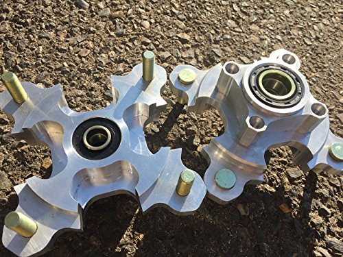 Kfx450R KFX 700 Set of front Hubs by RAD Parts 2008-current