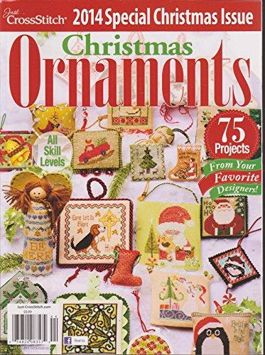 Just Cross Stitch Christmas Ornaments 2014 (Cross Issue Ornament Just Stitch)