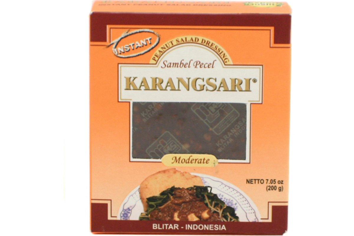 Peanut Salad Dressing (Moderate) - Sambel Pecel (Pedas Sedang) - 7.05oz (Pack of 6)