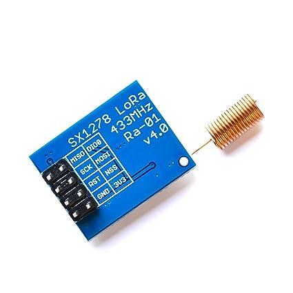Amazon com: UTP LoRa Module SX1278 Ai-Thinker 433M Wireless