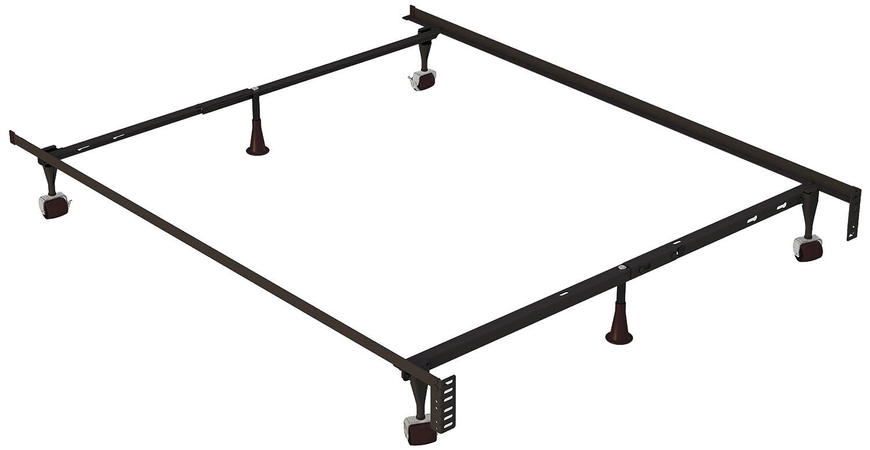 Amazon.com: Hollywood Bed Frames 2150BR Holly-Lock Keyhole Bed Frame ...