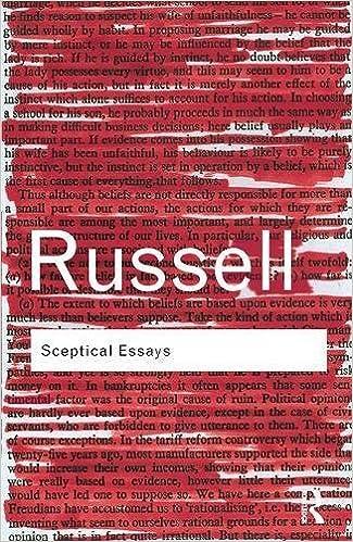 Book Sceptical Essays