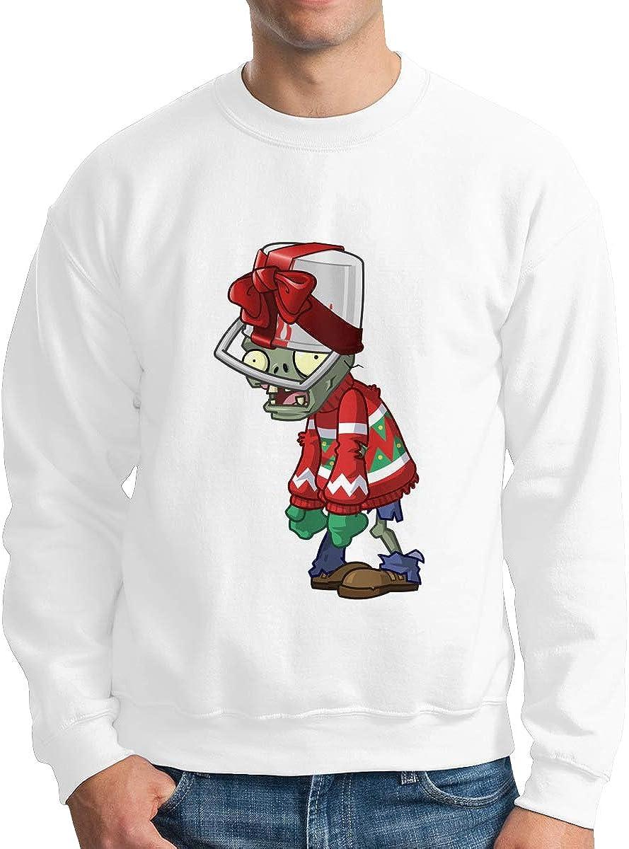 HsHdesign Buckethead Zombie Graphic Male Sweatshirts Printed Loose Hoodies in 4 Colors