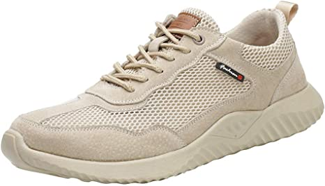 ELECTRI Chaussures de s/écurit/é l/ég/ères Hommes Anti-odeur de PiedEngrener Chaussures de Travail Toe Steel Toe Baskets protectrices Respirantes,Anti-crevaison