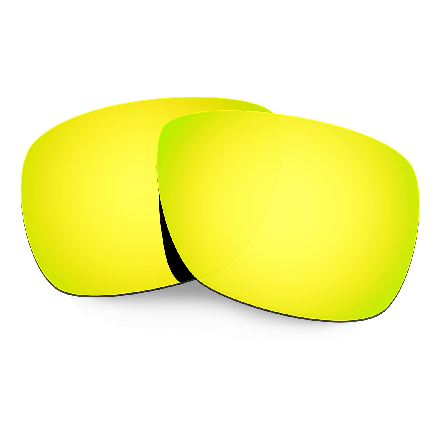 b1608b72c6 Amazon.com  HKUCO Mens Replacement Lenses for Oakley Inmate Sunglasses 24K  Gold Polarized  Sports   Outdoors