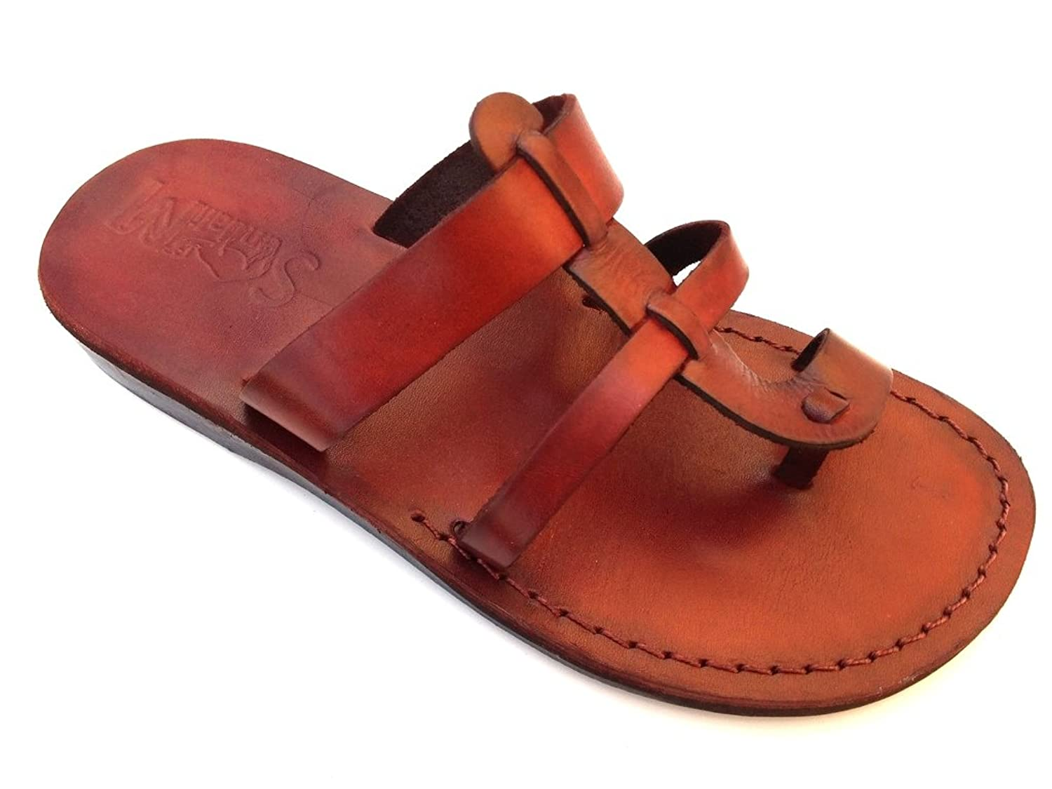 Beautiful Handmade SANDALS for Men Women GENUINE LEATHER - MENTA Style by SANDALIM - GET YOURS NOW !!!