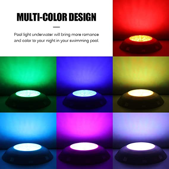 Buy Onever 24 Led Rgb Underwater Swimming Pool Light Multi Color 12v 20w With Rgb Remote Controller Outdoor Lighting Waterproof Underwater Lamp Plastic 20w Rgb Ac12v Online At Low Prices In India Amazon In