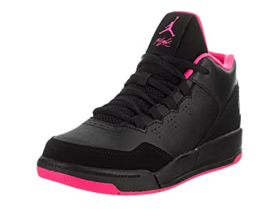 Jordan Nike Kids Flight Origin 2 GP Black/Black/Hyper Pink Basketball Shoe 1
