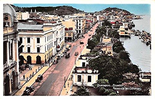 Paseo de las Colonias Guayaquil Ecuador, Republica del Ecuador Postcard