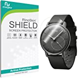 [6-PACK] Withings Activite Pop Screen Protector Full Coverage [Military-Grade] RinoGear Premium HD Invisible Clear Shield Anti-Bubble
