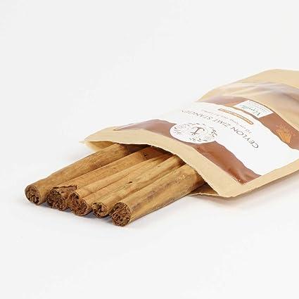 5 Zimtstangen 10cm Lang Ceylon Zimt Aus Sri Lanka Amazon De Lebensmittel Getranke