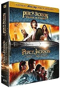 Percy Jackson : Le Voleur de Foudre + Percy Jackson 2 : La mer des monstres Francia Blu-ray: Amazon.es: Logan Lerman, Brandon T. Jackson, Alexandra Daddario, Sean Bean, Pierce Brosnan, Stanley Tucci,