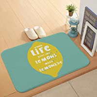 Luxury Bath Mat Non-Slip Absorbent Soft Mat,Small Fresh Leaf Print,Suitable for Bathroom Living Room Kitchen Bedroom,40 * 60cm