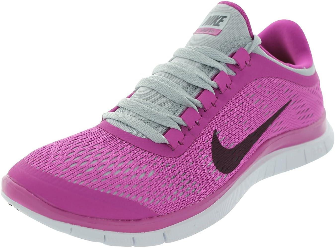 malicioso Barón persona que practica jogging  Amazon.com   Nike Women's Free 3.0 V5 Club Pink/Grdrn/Pr Pltmn ...