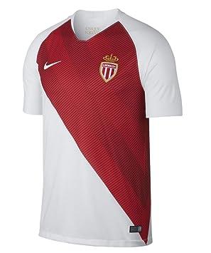 Nike 2018-2019 Monaco Home Football Soccer T-Shirt Camiseta