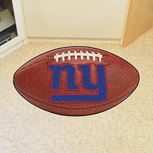 FANMATS 14340 NFL New York Giants Nylon Universal Man Cave All-Star Mat