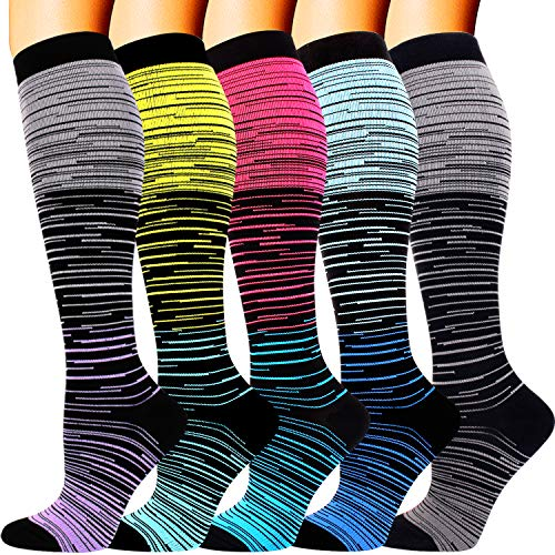 5 Pairs Compression Socks