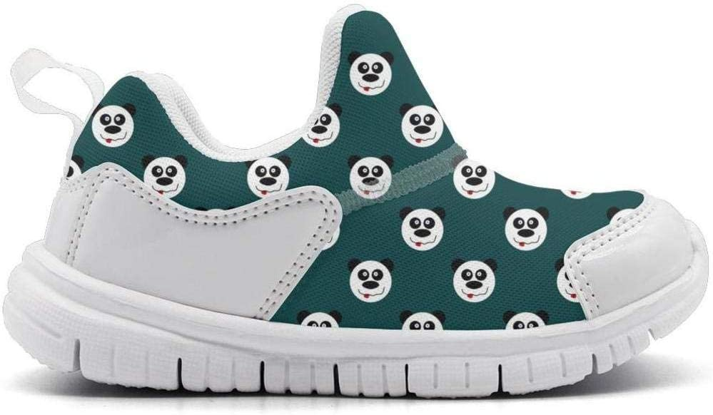 ONEYUAN Children Funny Panda Bear Head Kid Casual Lightweight Sport Shoes Sneakers Running Shoes