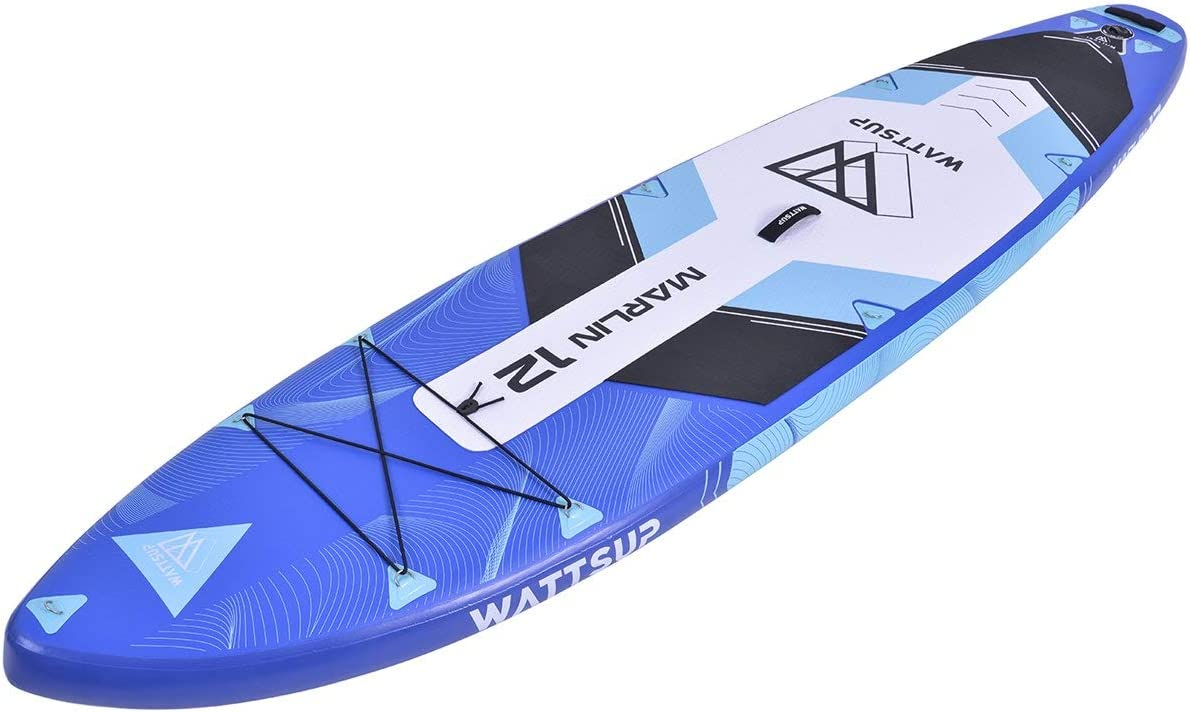 """WattSUP Marlin 12'0"""" Sup Board Stand Up Paddle Surf-Board Paddle Isup 365cm"""