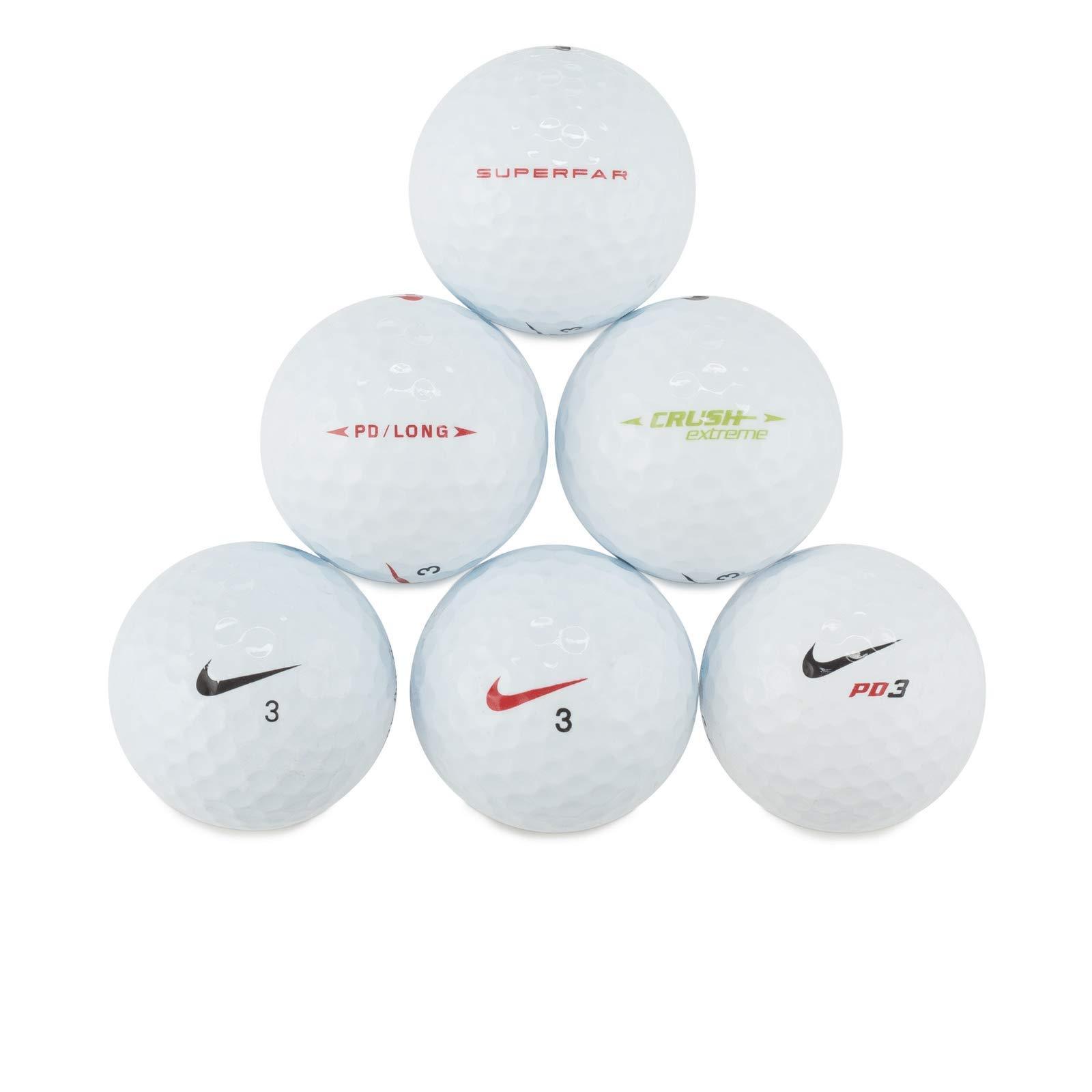 Mix AAAA Golf Balls, 50 Balls