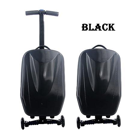 Scooter cyyr maleta con 4 ruedas de viaje trolley equipaje ...