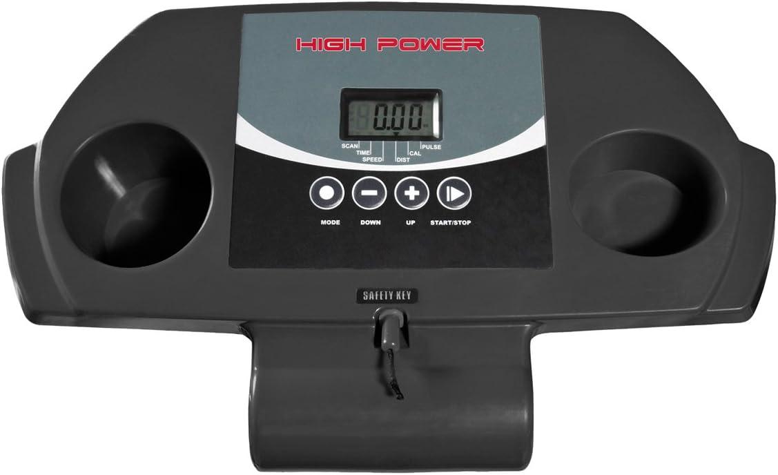 HIGH POWER Cinta de Correr Speed Walk Gris/Negro: Amazon.es ...