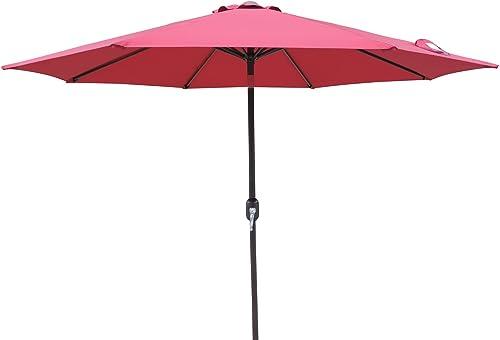Island Umbrella NU5429BR Trinidad Market Patio Umbrella