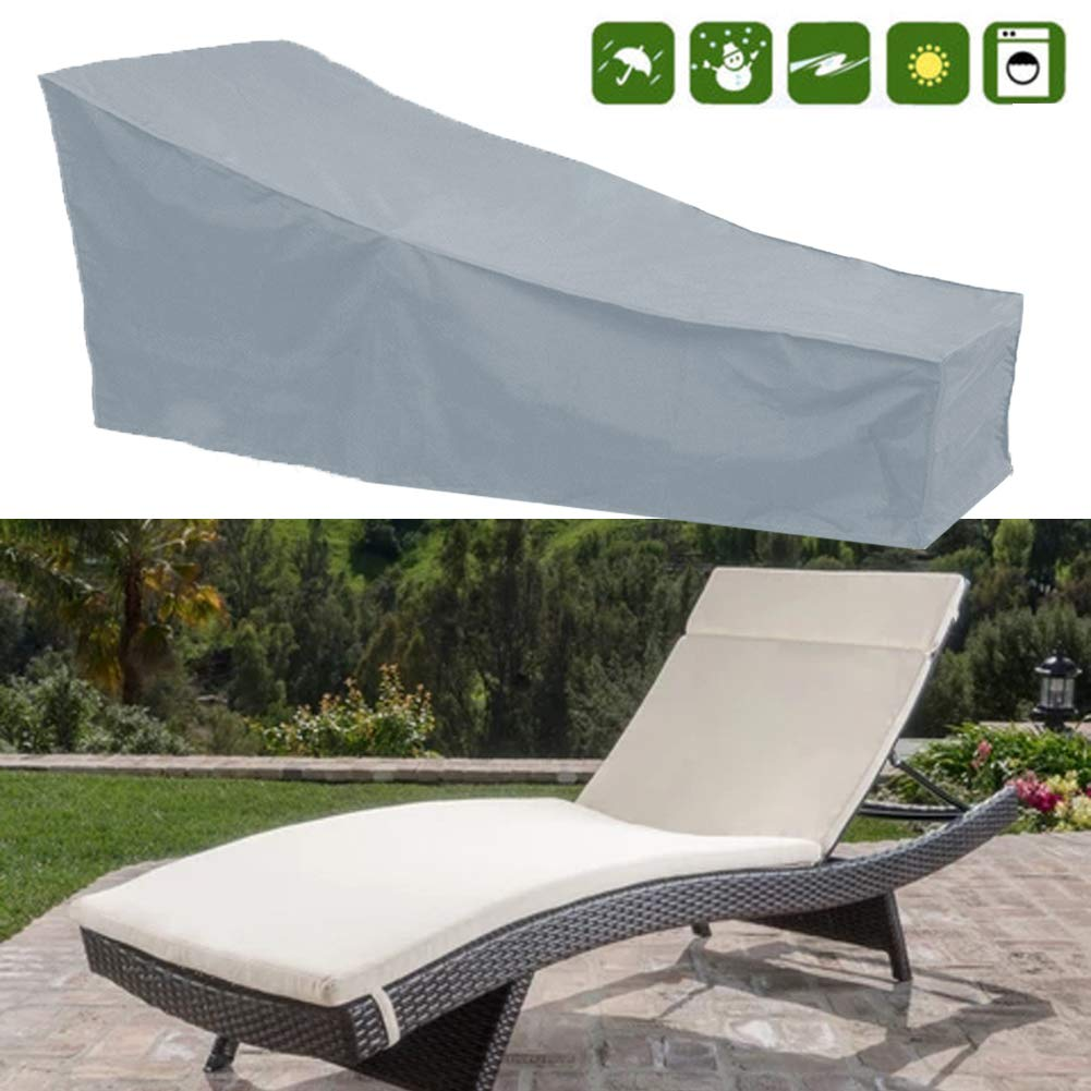 Silvotek Lounge Chair Covers - Waterproof Chaise Lounge Covers with Durable 210D Material,Premium Chaise Chair Cover by Silvotek
