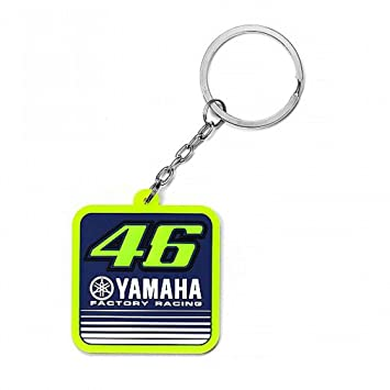 Valentino Rossi VR46 Moto GP M1 Yamaha Factory Racing Llavero Oficial 2017