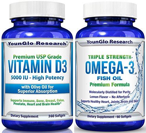Vitamin Fish Oil Bundle Pharmaceutical product image