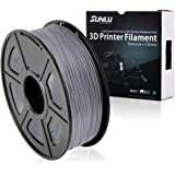 SUNLU 3D Printer Filament PLA Plus Blue(more like sky),PLA Plus Filament 1.75 mm,Low Odor Dimensional Accuracy +/- 0.02 mm 3D Printing Filament,2.2 LBS (1KG) Spool 3D Printer Filament for 3D Printers & 3D Pens,Blue(more like sky)