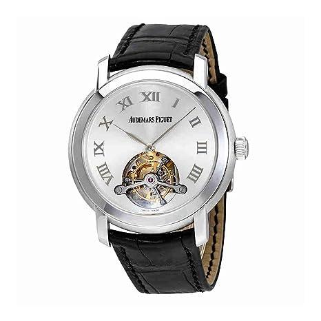 Audemars Piguet Jules Audemars Tourbillion Silver Dial Mens Watch 26561BCOOD002CR01