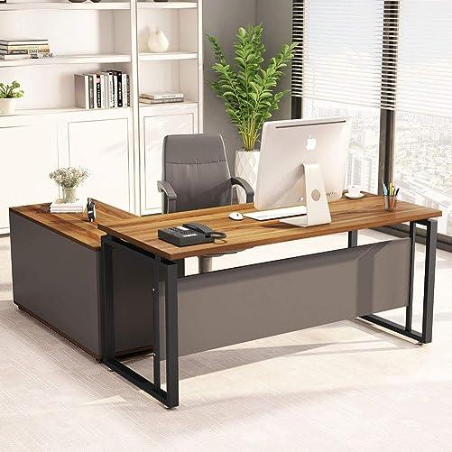 LITTLE TREE L-Shaped Computer Desk