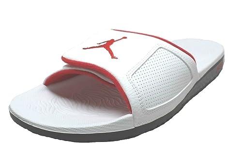 buy popular 2c832 b7c73 Nike Jordan Hydro 3 Mens Sandals 854556-103 12 - White University Red-Black