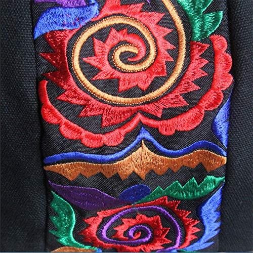Delantero Original De Bordado 40cm Bolso 35 Bolso Y Mochila Trasero Lona qU7xaX