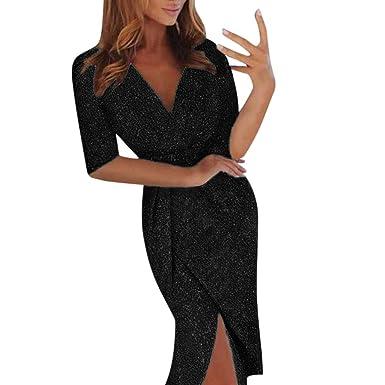 New Ladies V neck  Sleeveless Ruched Waist Knot Midi Bodycon Party Dress Uk 8-14