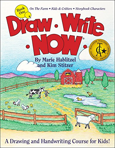 Draw Write Now Book 1: On the Farm, Kids and Critters, Storybook Characters