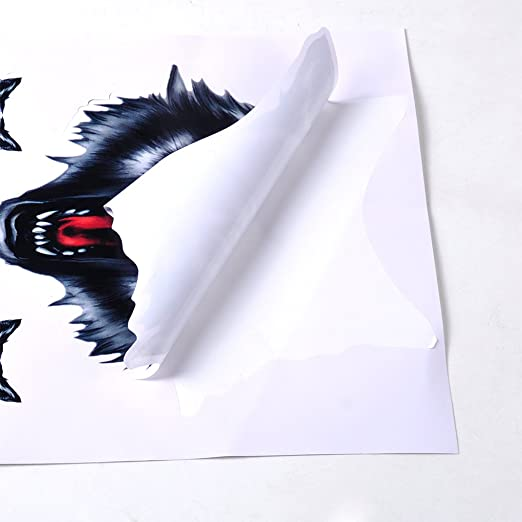 Amazon.com: F-blue Wolf Head Motorcycle Motorbike Car Door Decal Badge Paster Film Emblem Stickers Truck Helmet Decor: Cell Phones & Accessories