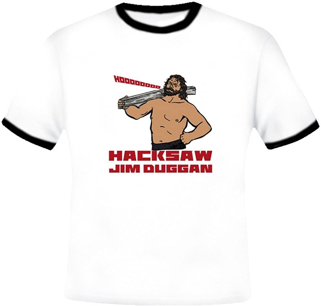 Hacksaw Jim Duggan Retro Wrestling T Shirt