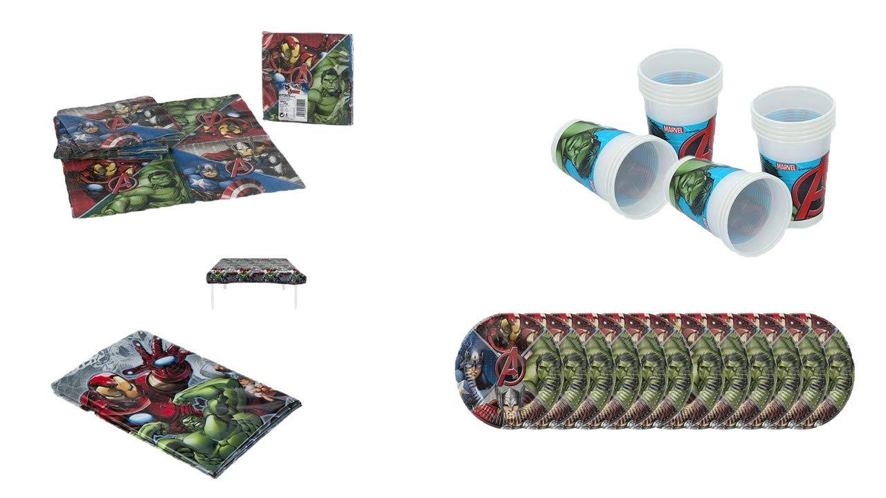 Spiderman Mantel Desechable Plástico Fiesta Cumpleaños Mantel Súper Héroe