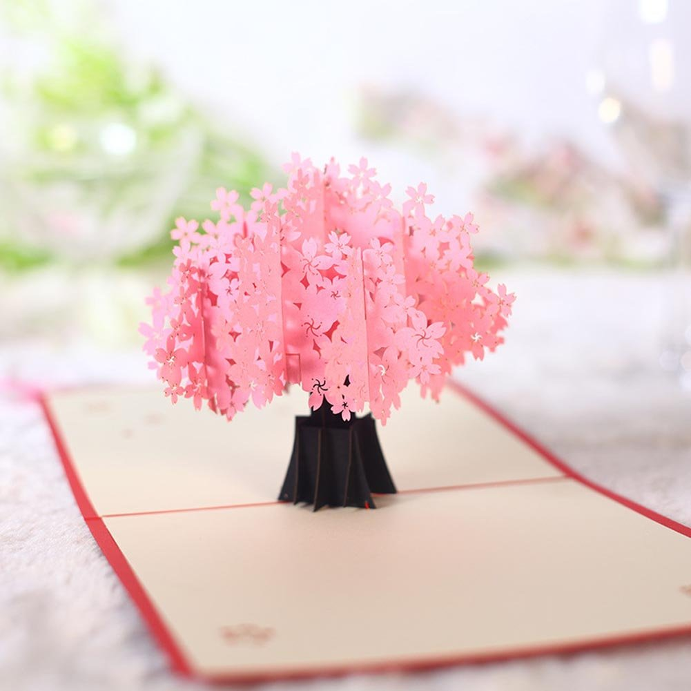 Amazon Bibitime Sakura Flower Cherry Blossom 3d Pop Up