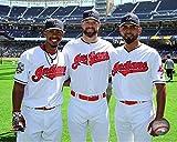 "Francisco Lindor, Corey Kluber, & Danny Salazar Cleveland Indians 2016 MLB All-Star Game Photo (Size: 8"" x 10"")"