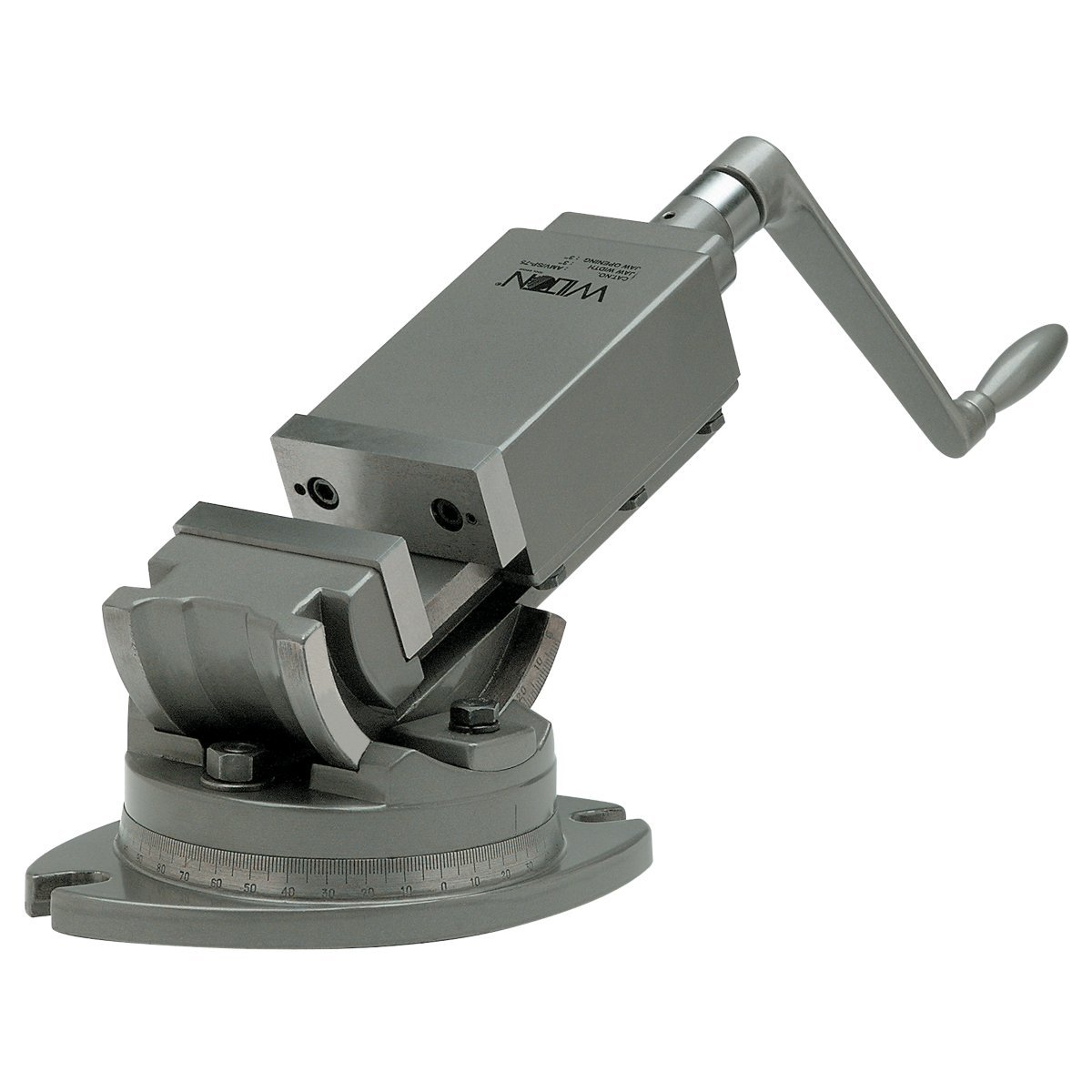 Wilton 11705 2-Axis Precision Angular Vise 4-Inch Jaw Width, 1-1/2-Inch Jaw Depth