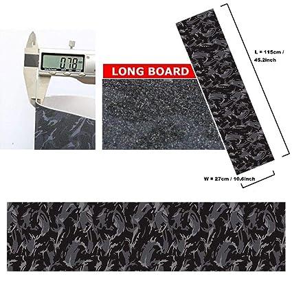 Amazon.com: Hoja de cinta adhesiva para monopatín, 115,2 x ...