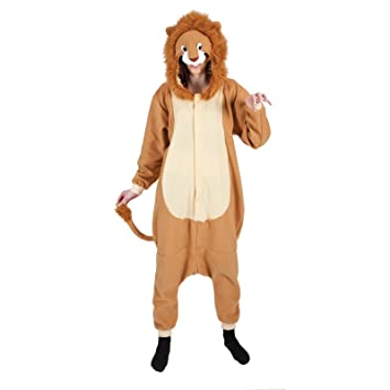 Lion One Piece Adult Animal Outfits for Ladies Mens Fancy Dress Costumes Charity Events Entertainers  sc 1 st  Amazon UK & Lion One Piece Adult Animal Outfits for Ladies Mens Fancy Dress ...
