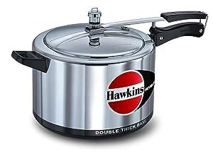 Hawkins H80 Ekobase Aluminum Pressure Cooker, 8-Liter